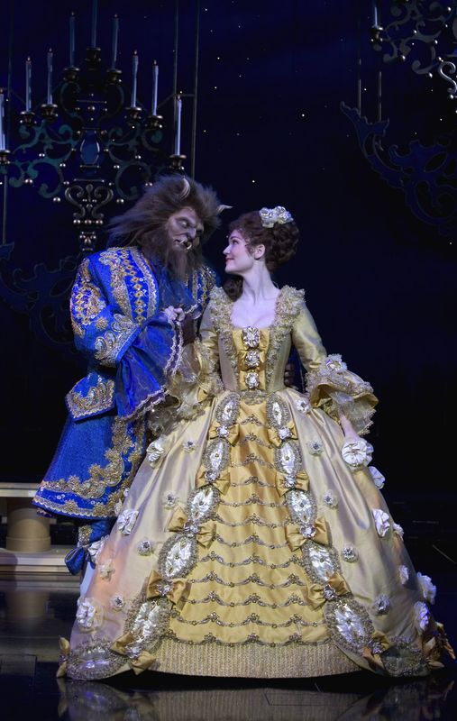 Image result for beauty and the beast det ny theater