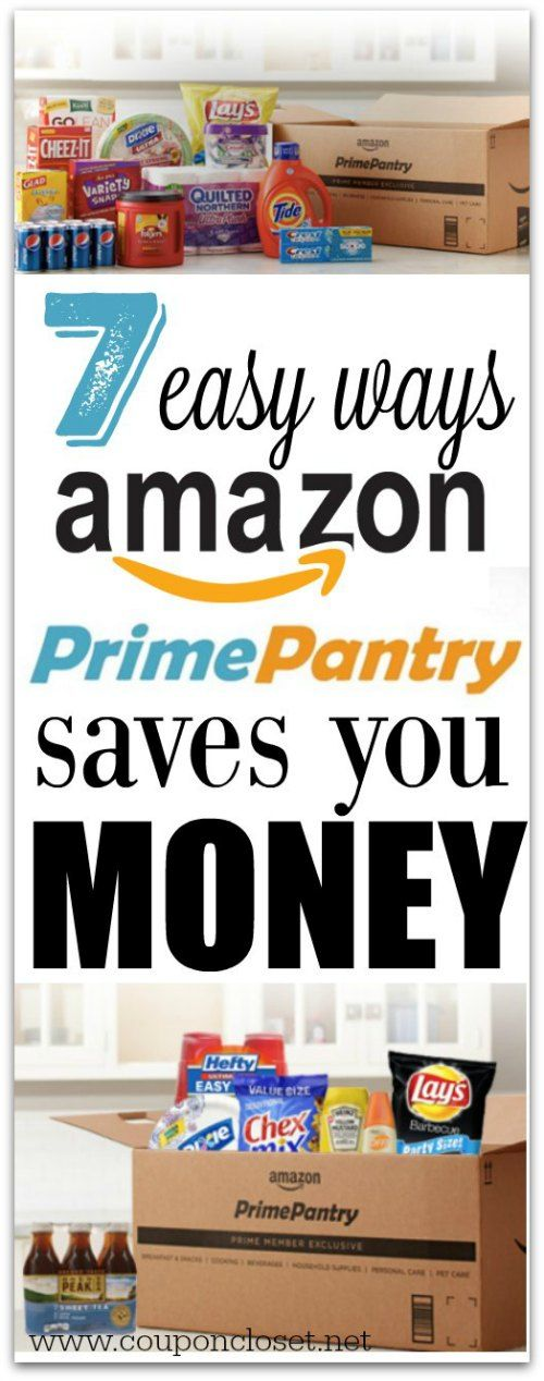 How to Use Amazon Prime Pantry & How it saves You Money