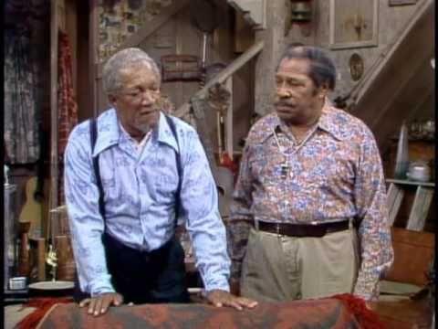 Seventies, Tv show, Comedy, Redd Foxx and Demond Wilson