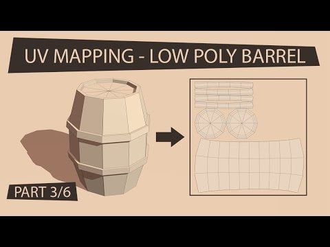 GAME ASSET TUTORIAL - UV Mapping in Blender (PART 3/6) - YouTube