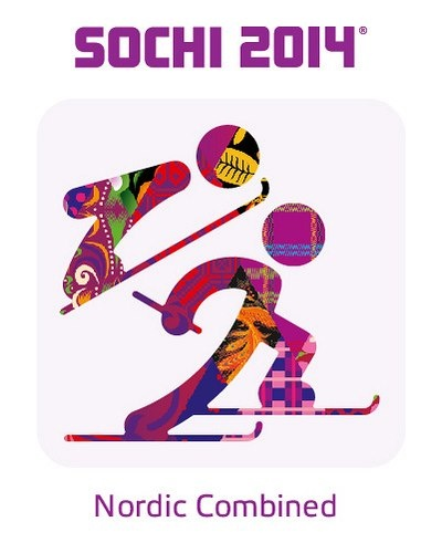 2014 Sochi Winter Olympic Games: Nordic Combined Pictogram