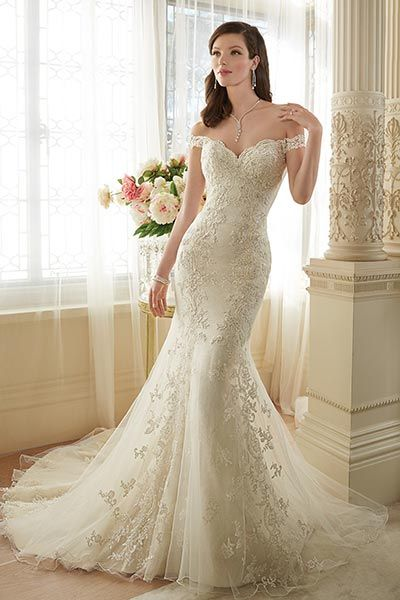 16 best Mermaid Wedding Dresses images on Pinterest | Short wedding ...