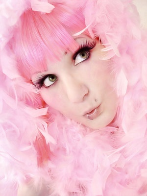 .Dyed Hair, Feathers Boa, Pink Lady, Girls Generation, Pretty In Pink, Perfect Pink, Soft Pink, Cotton Candies, Girls Hair
