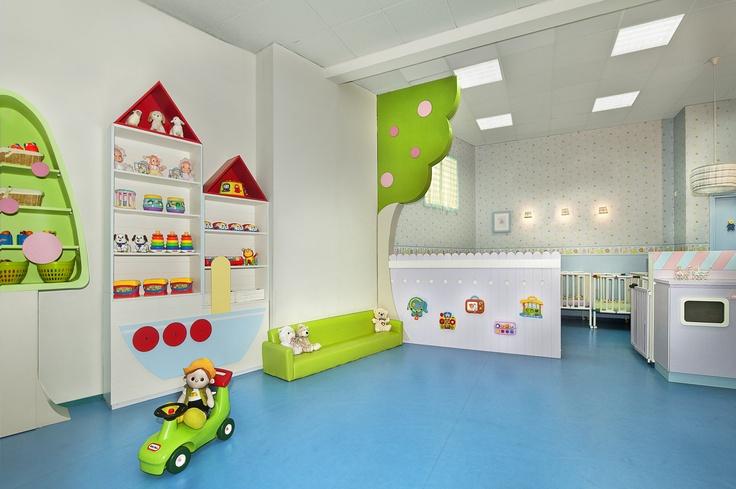 Interior design by dana shaked kindergarten for Play school interior design ideas