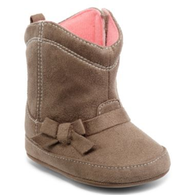 Baby girl cowboy boots. Too cute!