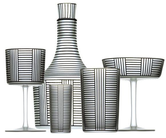 Series B collection, ca. 1912 | designed by Josef Hoffmann (1870-1956) |  Wiener Werkstätte (1903-1932), Vienna, Austria.