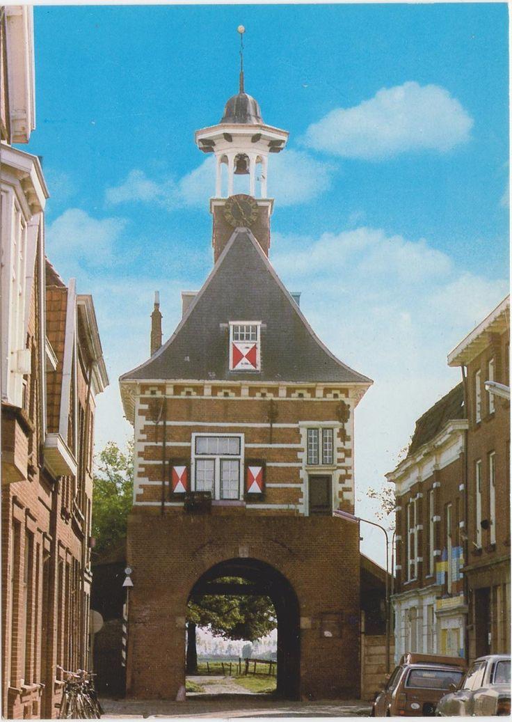 Postcard sent to Finland >> Dalempoort, Gorinchem