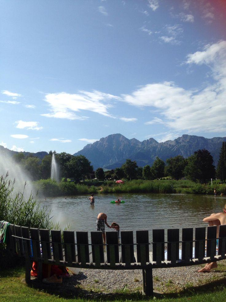 Ritzensee Oostenrijk
