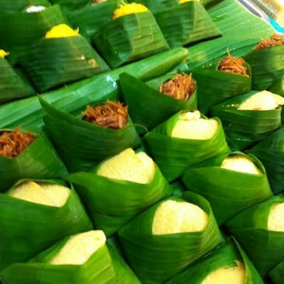 Thai Sweet Sticky Rice with Variety Toppings