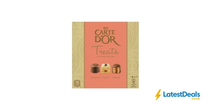 Carte D'Or Treats Ice Cream Pralines, £2 at ASDA