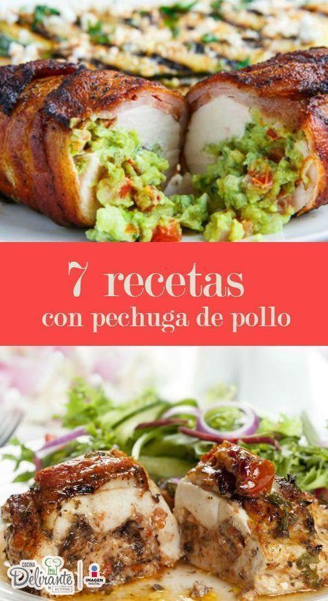 recetas con pechugas de pollo   CocinaDelirante