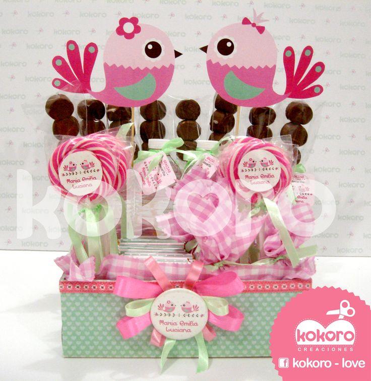 kit de bienvenida para gemelas =)   www.facebook.com/kokorocreaciones