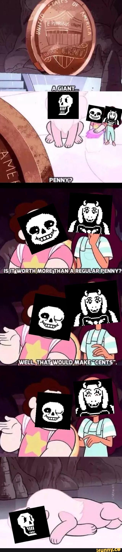 Steven Universe/Undertale puns
