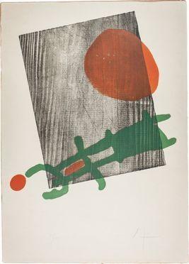 Joan Miró  (Montroig, 1893 - Palma di Majorca, 1983) : Affiche per l'esposizione du livre À Toute Épreuve alla Galerie Berggruen.  - Asta Manoscritti, Libri, Autografi, Stampe & Disegni - Libreria Antiquaria Gonnelli - Gonnelli Casa d'Aste