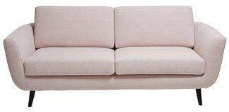 2.5er-Sofa SEIDEL | Stoff, Hellrosa, B:197 cm, T:93 cm, H:78 cm kaufen - micasa.ch