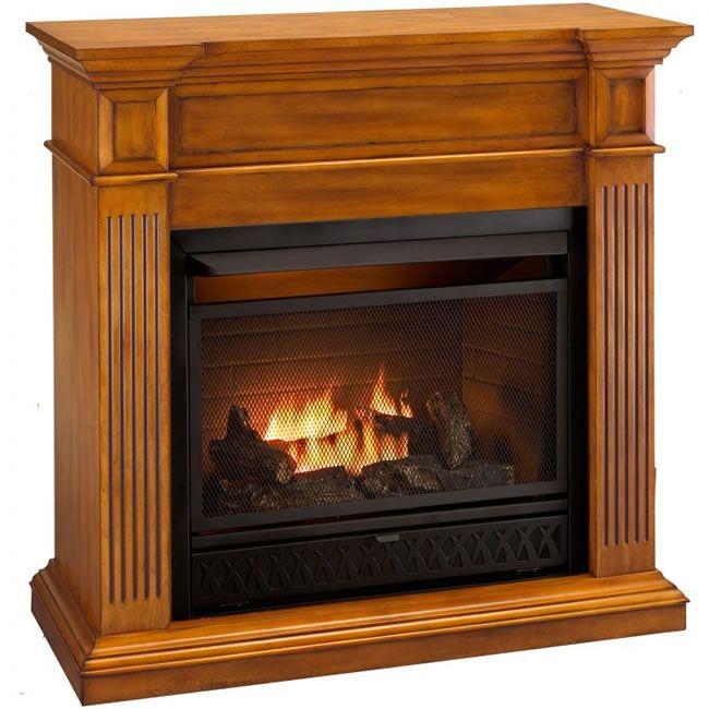 Procom Complete Intermediate Ventless Gas Fireplace  Finishing basement  Ventless propane