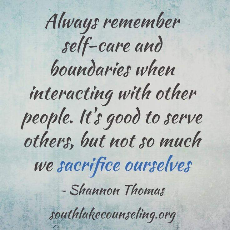 Self-care and Boundaries