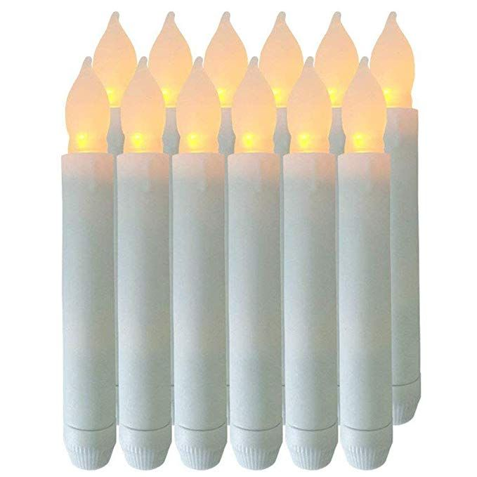 Flameless Candles Battery Operated Candles 6 5 X0 8 Set Of 12
