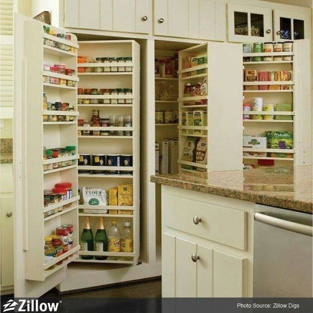 10 Inspiring Pantry Designs: 31 Remodeling Ideas You Obviously Need In Your Future Home