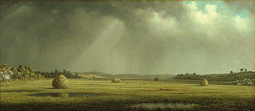 Newburyport Meadows, ca. 1876–81  Martin Johnson Heade (American, 1819–1904)  Oil on canvas