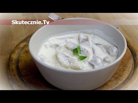 Śledzie w pysznej śmietanie jogurtowej z czosnkiem :: Skutecznie.Tv [HD]