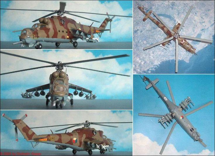 CSSR: Mil Mi-24E (Hind) (Hasegawa K-21) 1:72