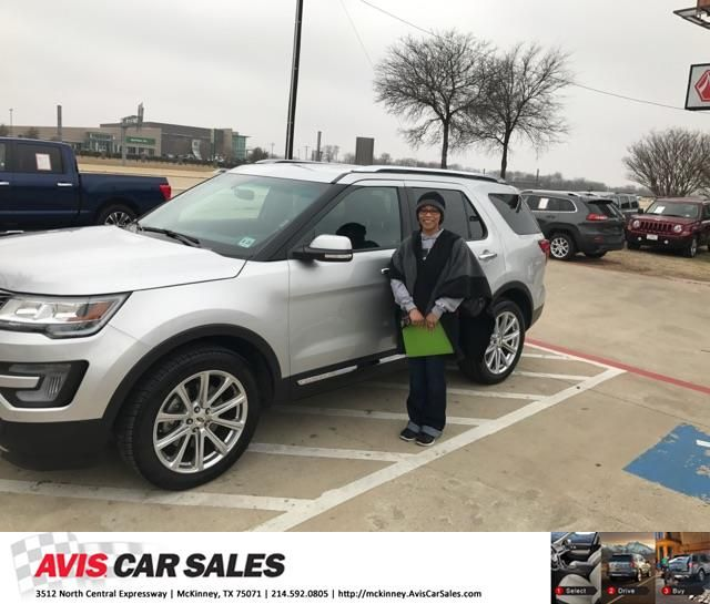 Congratulations Laruth On Your Ford Explorer From Jim Proctor At