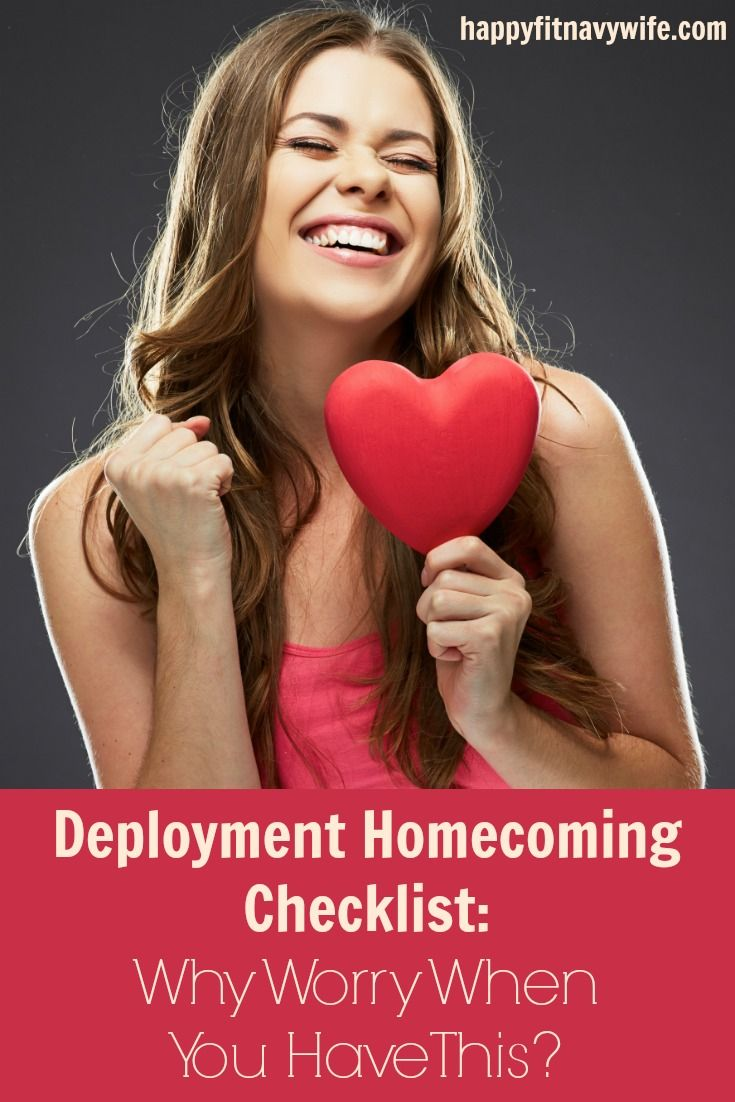 Get this deployment homecoming checklist free from Heather at Happyfitnavywife.com | Sweet!