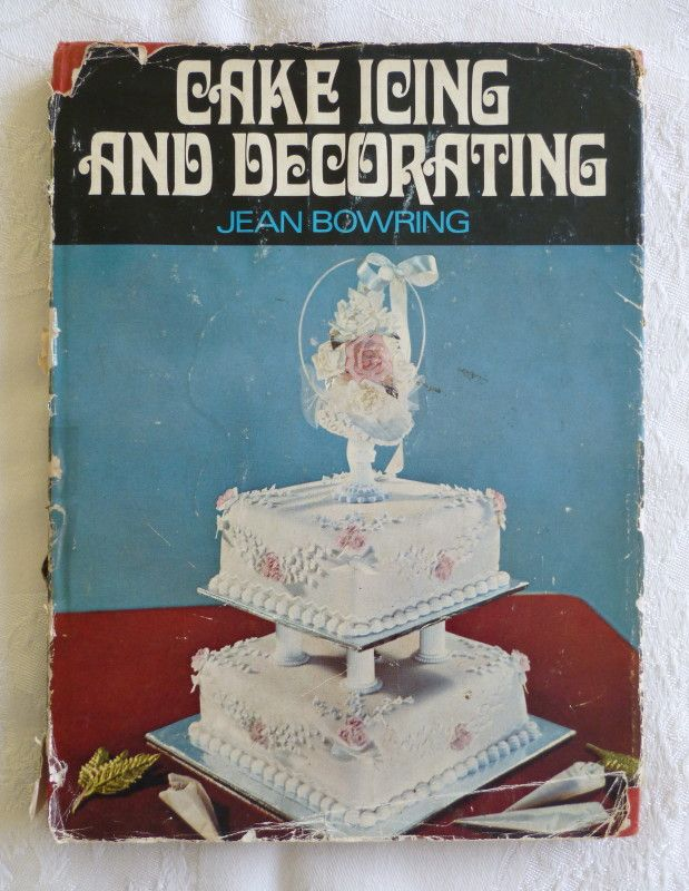 Cake icing and decorating jean bowring
