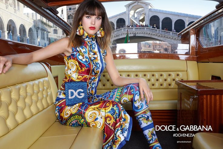 Dolce&Gabbana 2018 Spring/Summer ad campaign
