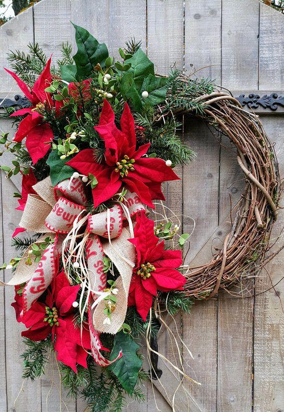25 Unique Grapevine Wreath Ideas On Pinterest Christmas