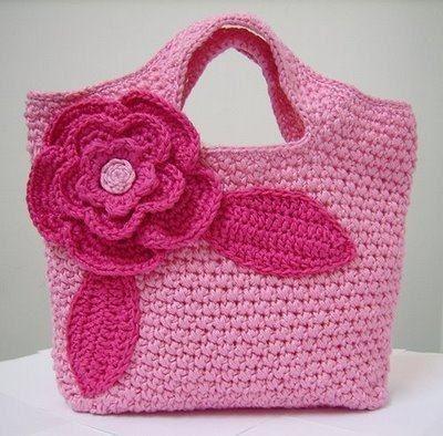 girl´s crochet bag