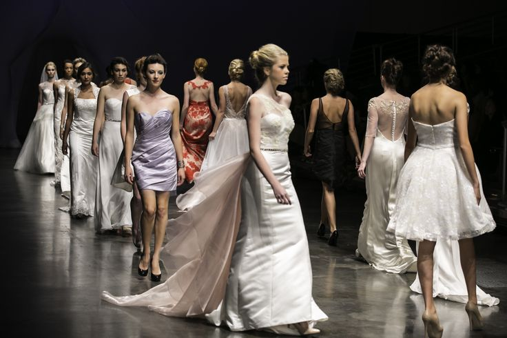 Bridal fashion runway show by Sophie Chang Collection