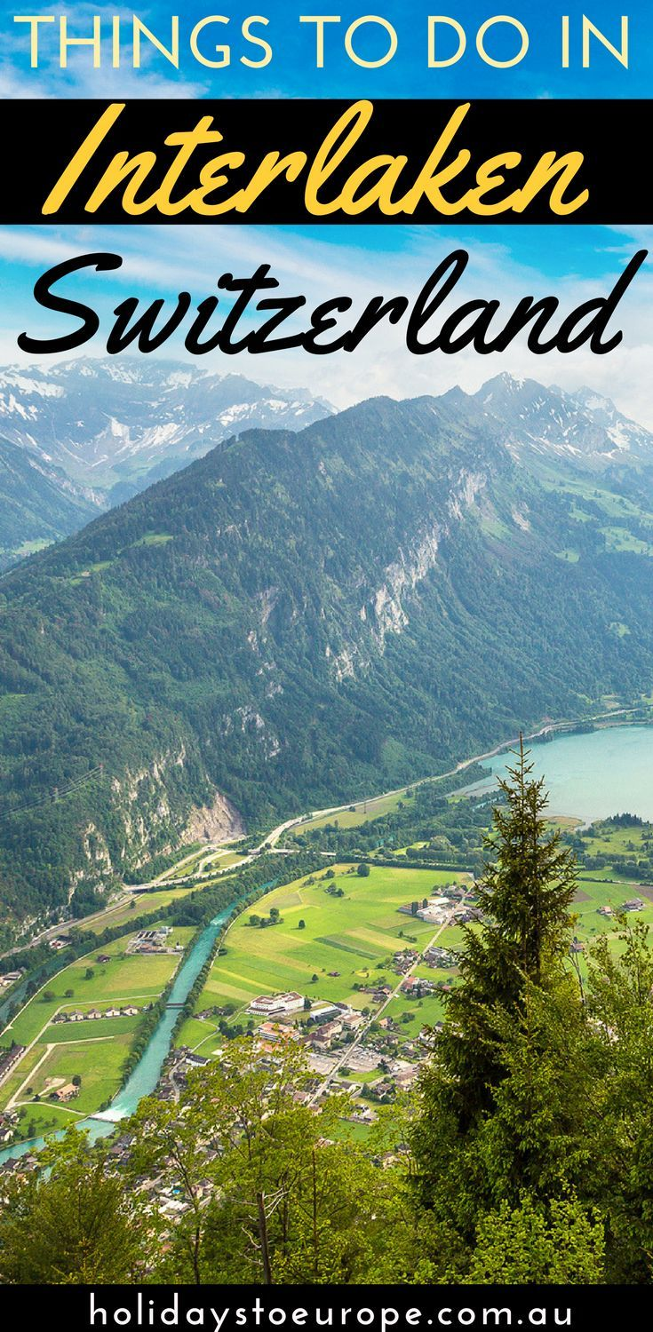 Things to do in Interlaken, Switzerland. In our Interlaken travel guide you'll discover the many fun and interesting things to do during your visit. We've also covered the best accommodations, attractions and adventure sports. Click to read: Things to do in Interlaken, Switzerland.