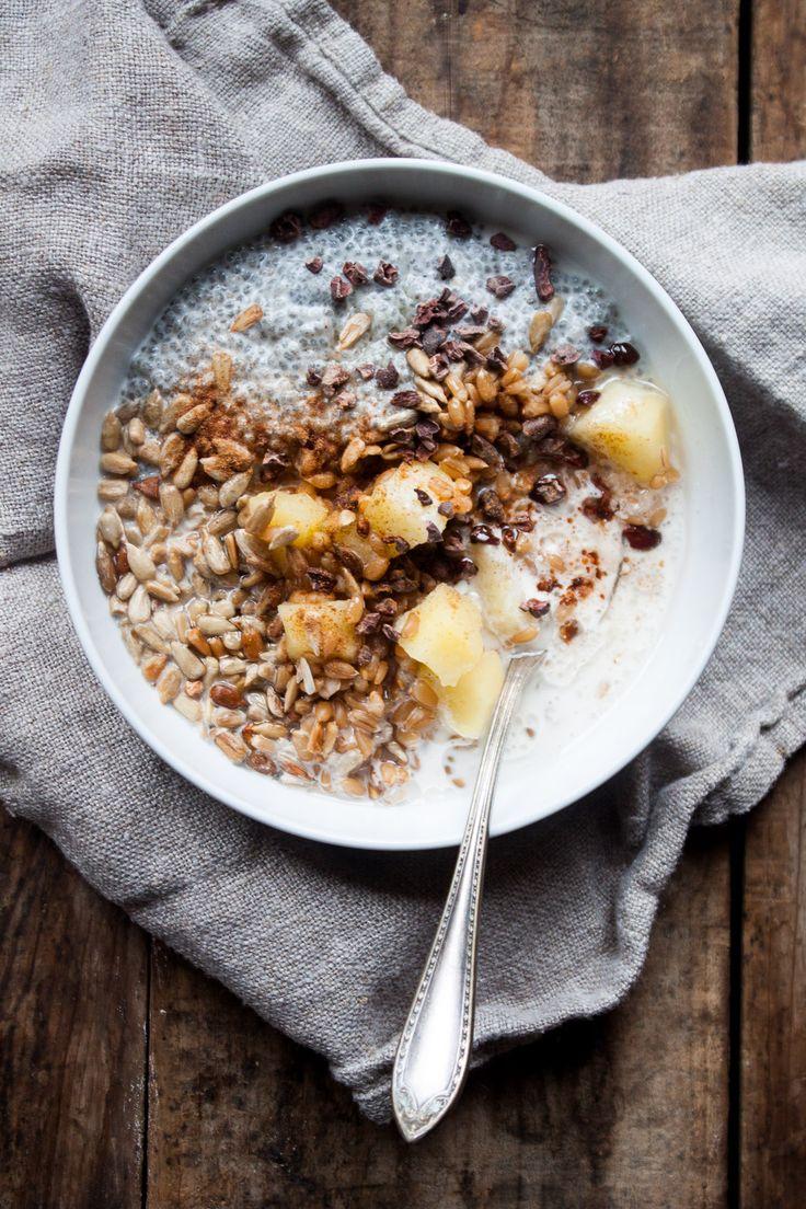 Winter Farro Breakfast Bowl