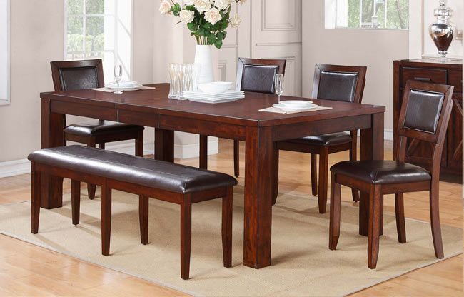 Winners Only Fallbrook Dining Collection Extendable Dining Table