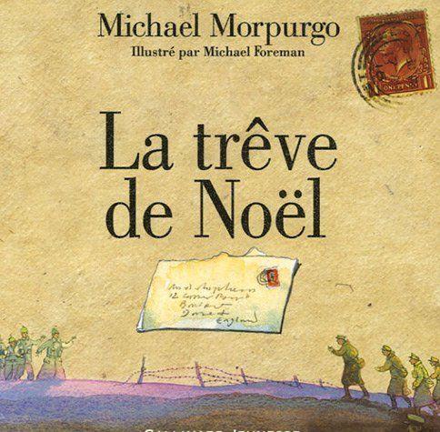Histoire - Première Guerre Mondiale.  La trêve de Noël, Michael Morpurgo, collection albums juniors, Gallimard jeunesse. http://www.amazon.fr/dp/2070571890/ref=cm_sw_r_pi_dp_hyEnrb17H6TE8