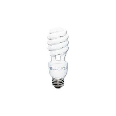 SLI Lighting Spiral, Soft White Energy Saver Compact Fluorescent Bulb, 20 Watts