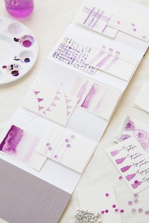 Watercolor Calligraphy + Design