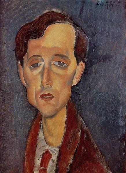 Frans Hellens, 1919 - Amedeo Modigliani