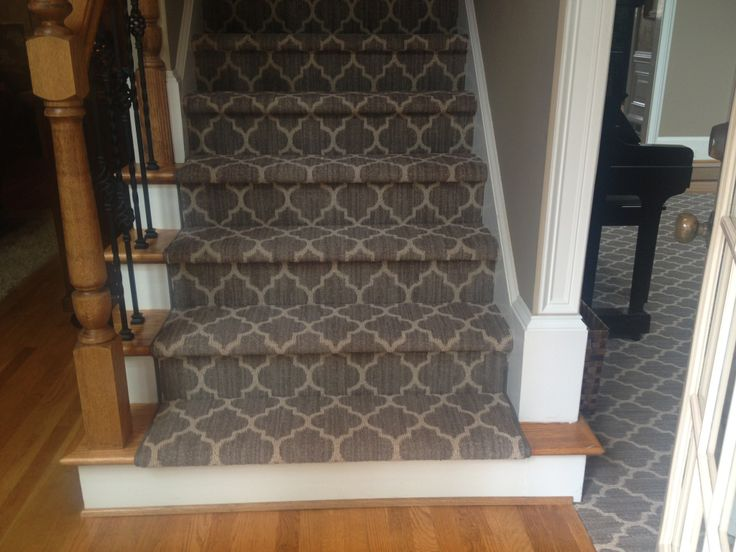 Great Pattern For A Stair Runner Holly Shaw Floors
