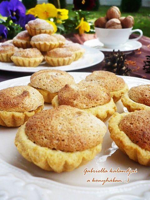 Gabriella kalandjai a konyhában :): Diós kosárka - Anyukám receptje szerint