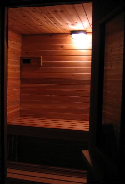 The Boulder Sauna [kit]—How to Build a Finnish Sauna: cedar, kits, heaters, building materials, tools, and health benefits