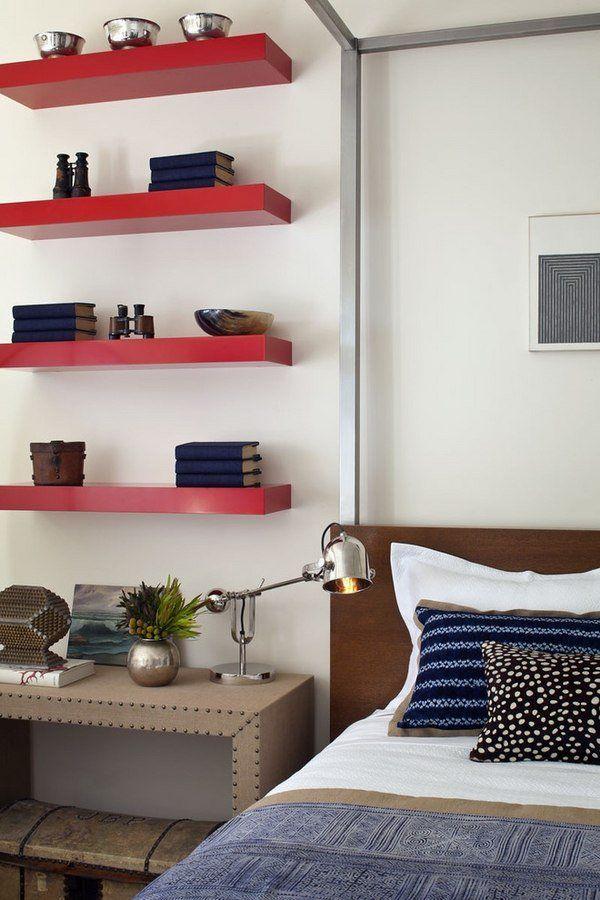 17 Best Ideas About Floating Shelves Bedroom On Pinterest