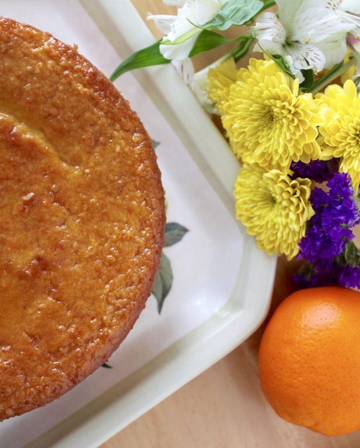 Sicilian Orange Cake (Using an Entire Orange: Peel, Juice and Pulp)