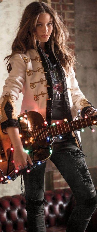 Ralph Lauren // rock n' roll style