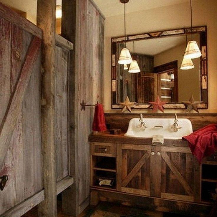 rustic bathroom lighting rustic bathroom lighting ideas stunning rustic bathroom lighting - Rustic Bathroom Lighting Ideas