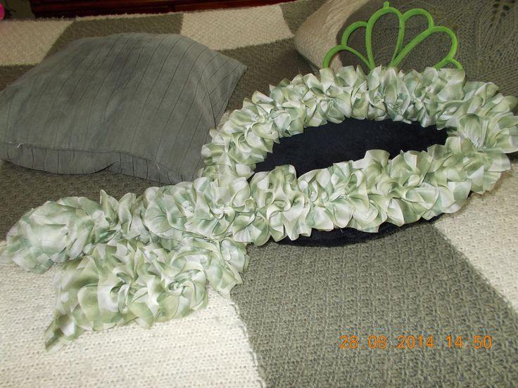 En voici un dans un mélange de vert et blanc