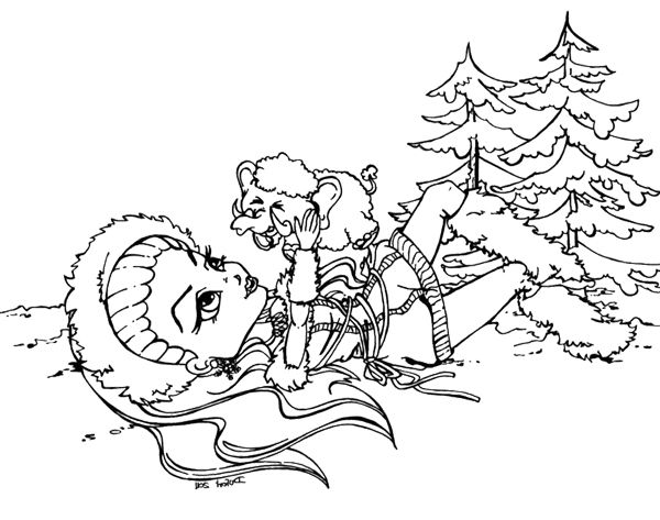 elephant monster high coloring pages - photo#3