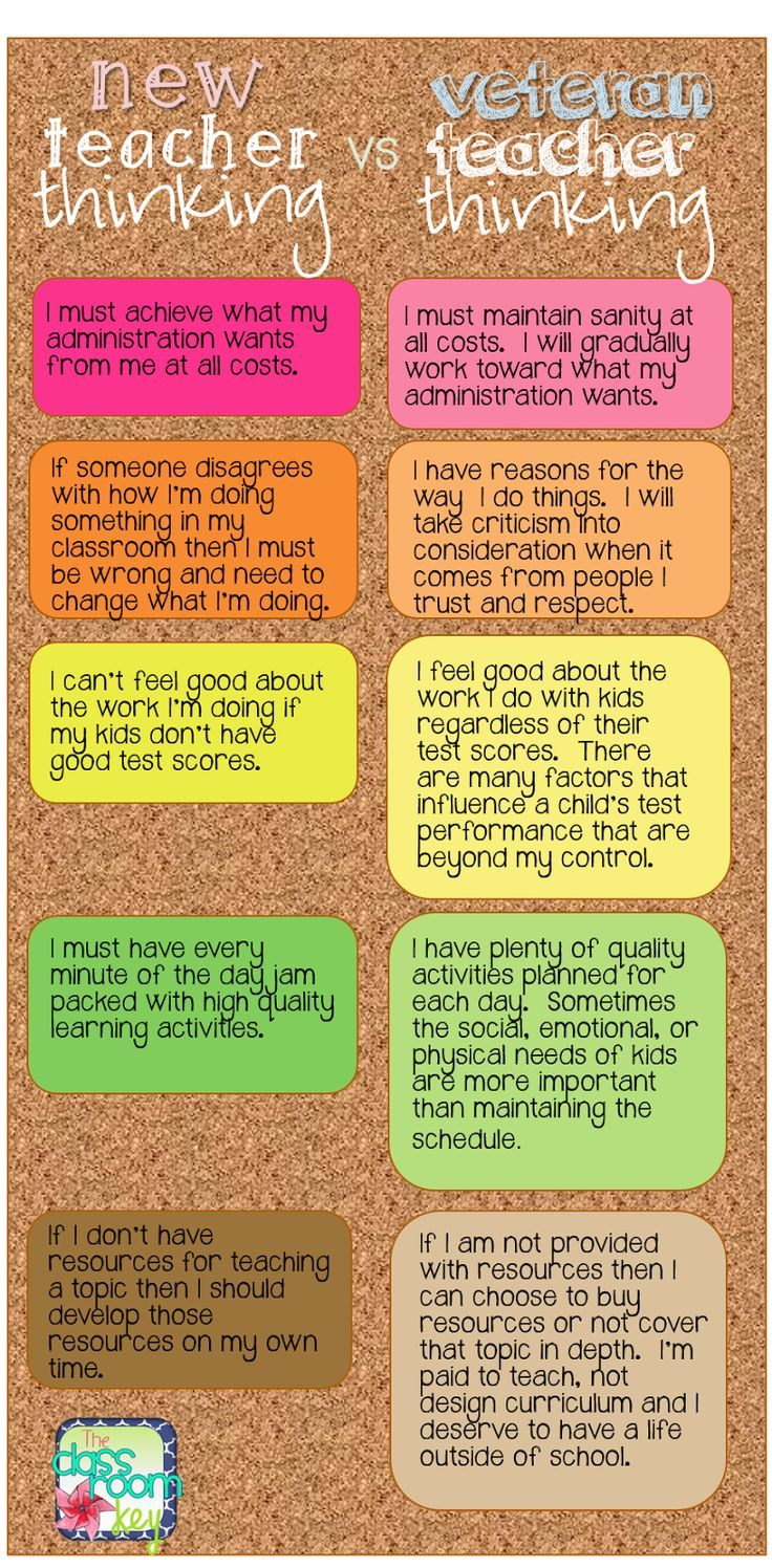 maintaining your sanity and passion for teaching, new teacher thinking vs. veteran teacher thinking